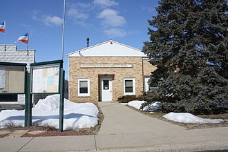 Sullivan, Wisconsin - Village hall