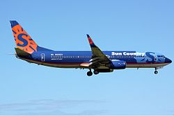 Boeing 737-800 der Sun Country