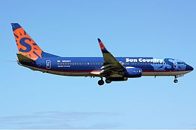 Sun Country Airlines Boeing 737-800 LDS.jpg