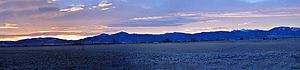 Gallatin Range - Sunrise over Gallatin Range from Bozeman, Montana