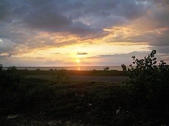Brahmanbaria - Image: Sunset in Brahmanbaria