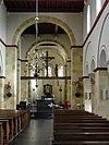 susteren, limburg, basiliek interieur