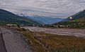 Svaneti River near Mestia airfield-Upė prie Mestijos aerodromo (3871657425).jpg