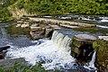 Swale falls at Richmond (N Yorks) - geograph.org.uk - 2530404.jpg