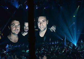 Swedish House Mafia - Swedish House Mafia performing at på Grammisgalan 2013, in between their One Last Tour