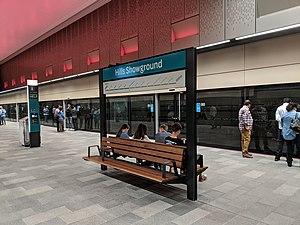 U-Bahnhof Hills Showground