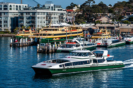 Sydney Ferries' Maintenance Facility at Balmain Shipyard in Mort Bay in July 2013 Sydney Ferries' Maintenance Facility.jpg