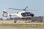 Sydney HeliTours (VH-XMV) Eurocopter EC 135 P2+ at Wagga Wagga Airport (3).jpg