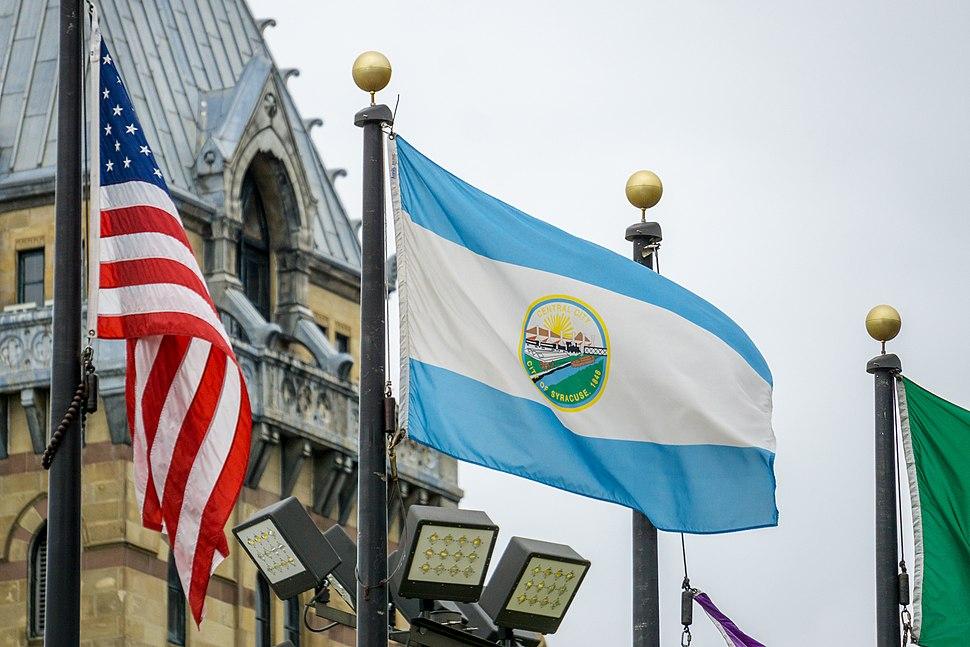 Syracuse New York flag