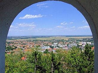 Tolna County - Image: Szekszárd kilátóból