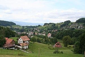 Tösstal railway line - Image: Tösstal Wald