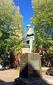 Tønsberg domkirke Norway Svend Foyn statue 2015-09-25.jpg