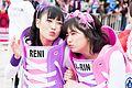 T-SPOOK 2016 Takagi Reni & Sasaki Ayaka (Momoiro Clover Z) (33543453120).jpg