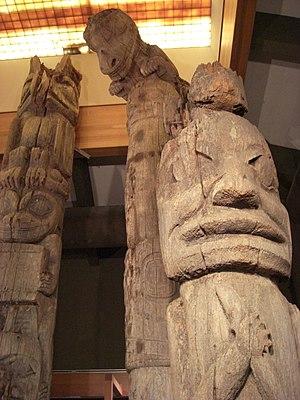 Totem Heritage Center - Image: THC Totems