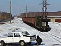 TU4-2727 Shatura narrow gauge railway, Kerva station (31445795855).jpg