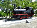 Taiwan Sugar Railway Steam locomotive No.374 Display in Chengkungling 20121006.jpg