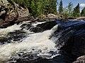 Talubi Falls in Nopiming Provincial Park in Manitoba, Canada. (44388700672).jpg