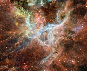 "Central portion of the Tarantula Nebula. ""..."