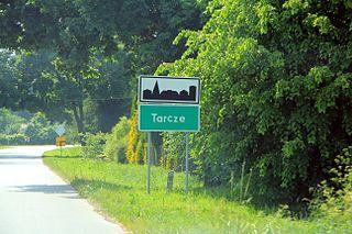 Tarcze Village in Masovian, Poland