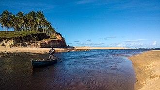Corumbau Marine Extractive Reserve - Image: Tata Lobo Foz do Rio Cahy, Prado, Bahia