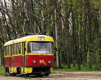Tatra T4 - T4SU in Lviv