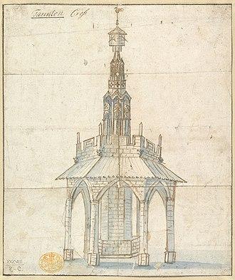 Taunton - Taunton Cross c. 1770