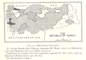 One-party period of the Republic of Turkey - Image: Taxation Turkey 1927