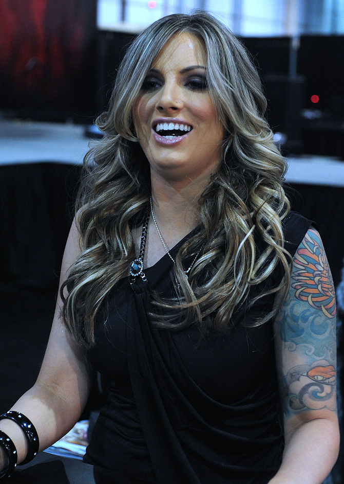 English: Teagan Presley at AVN Adult Entertain...