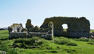 North Uist - The ruins of Teampull na Trionaid, a church said to have been built by Amy of Garmoran, after her divorce