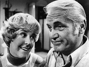 Ted Knight - Ted Knight and Georgia Engel on The Mary Tyler Moore Show