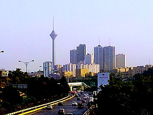 Greater Tehran - Image: Tehran tower view