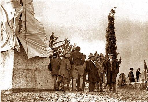 Einweihung des Denkmals am 22. Februar 1934