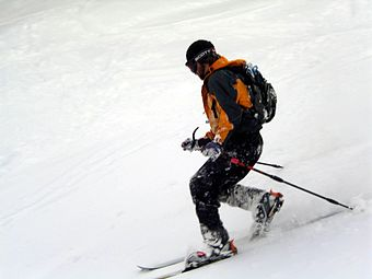 Telemark skier at Mount Stirling cross country ski resort Telemark-skier-mt-stirling-1.jpg