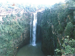Kaimur district - Telhar Falls, Kaimur district
