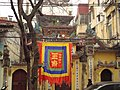 Temple in Old Quarter Hanoi.JPG