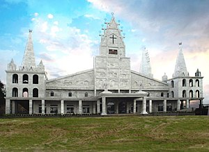 Solomon's Temple, Aizawl - Solomon's Temple, a symbol of love of elects to Jesus of Nazareth