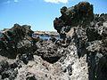 Teneriffa - Süd - Las Galletas-Küstenwanderung an der Costa del Silencio nach Osten- Lava - panoramio.jpg