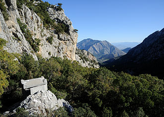 Termessos - Tomb with a view.