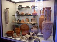 Reperti antichi al Museo archeologico di Terni