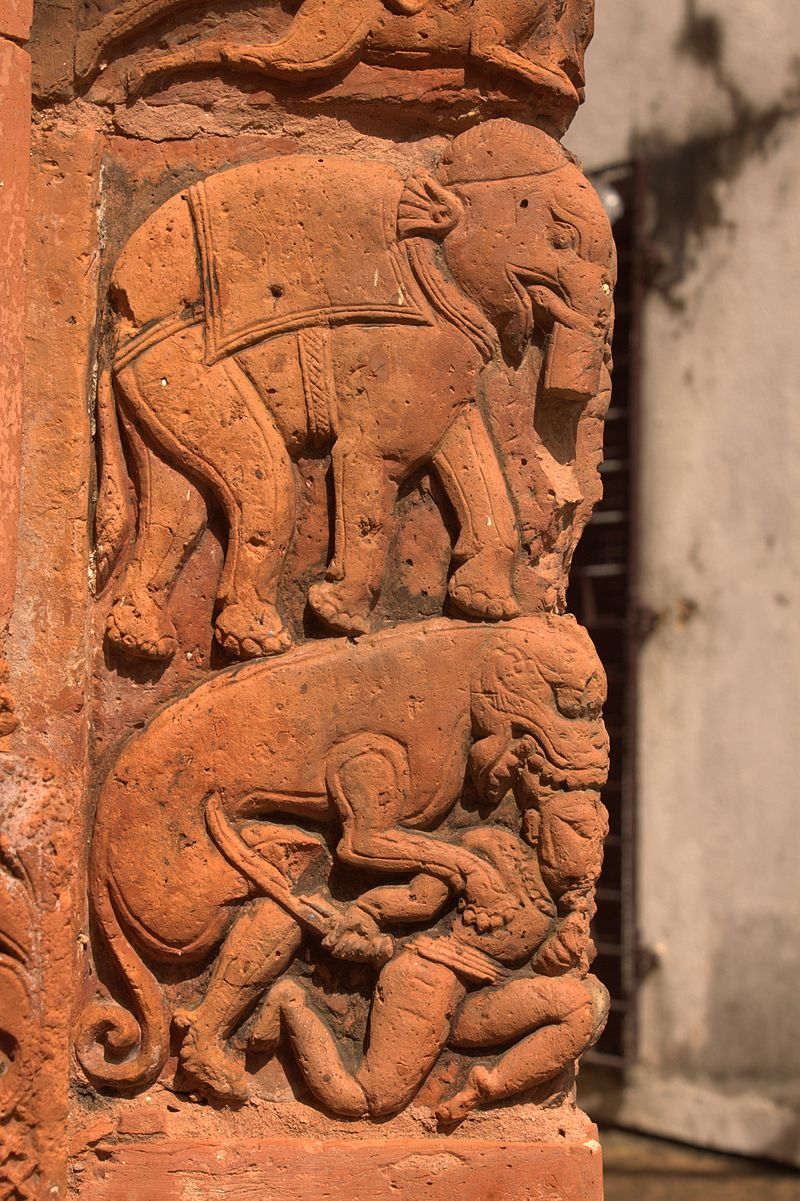 Terracotta Panel - Gopalji Temple - Kalna 2016-09-25 6479.jpg