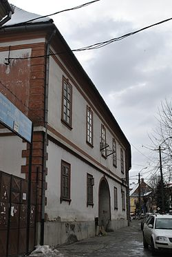The Mureș County Prefecture building of the interwar period.