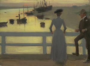 Philip Wilson Steer - The Bridge (1887) (Tate)