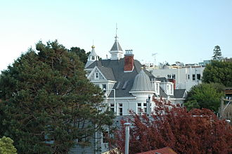 Alfred E. Clarke Mansion - The Caselli Mansion or Alfred E. Clarke Mansion in 2009