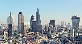 Londra Şehri'ndeki gökdelen