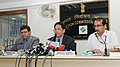 """The Deputy Election Commissioner, Shri Umesh Sinha addressing a curtain raiser press conference on """"Voter Education for Inclusive, Informed & Ethical Participation"""", in New Delhi on October 17, 2016.jpg"""