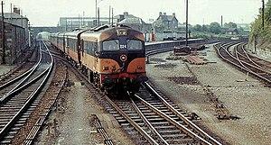 Irish North Western Railway - Image: The Irish North yard, Dundalk geograph.org.uk 1606130