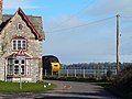 The Lodge and Train - geograph.org.uk - 1235367.jpg