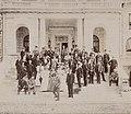 The Mendelssohn Glee Club at the estate of Commodore Elias Cornelius Benedict in Greenwich, Connecticut, 1897.jpg