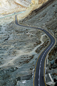 Karakoram the longest Highway in the world 1300 km