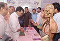 The Minister of State for Human Resource Development, Shri Upendra Kushwaha visiting an exhibition, at the 56th NCERT foundation day celebrations, in New Delhi on September 01, 2016 (1).jpg
